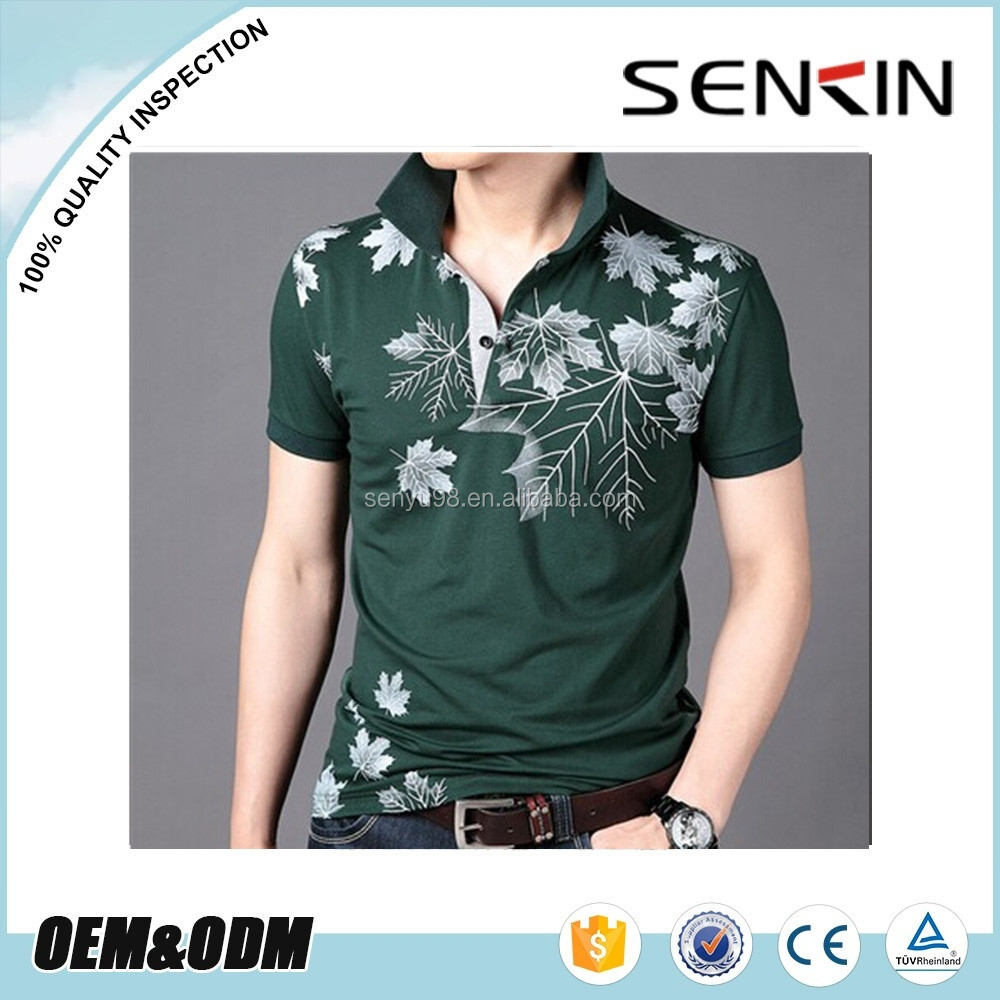 Mens Custom Polo Shirt Embroidery Design Polo Shirt Wholesale In