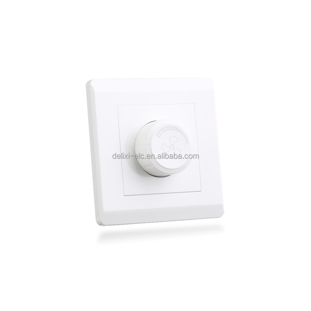 DELIXI 1000W Fan Speed Controller Wall Switch