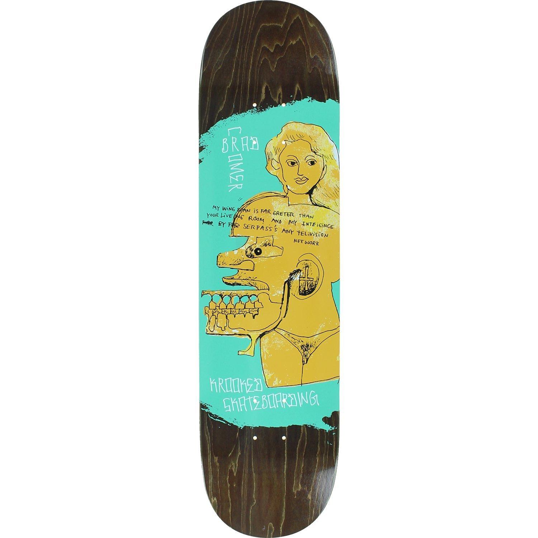 Krooked Brad Cromer Network Deck -8.06 Assembled as COMPLETE Skateboard