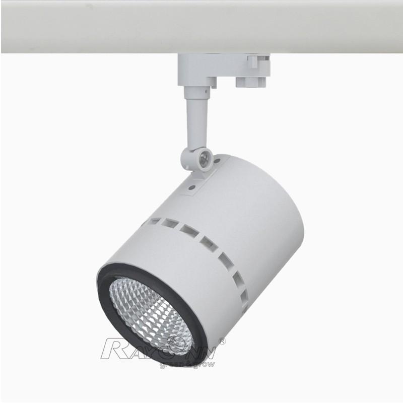 Flexible Track Lighting Led: 30w Flexible Led Track Lighting Adjustable Beam Focus For