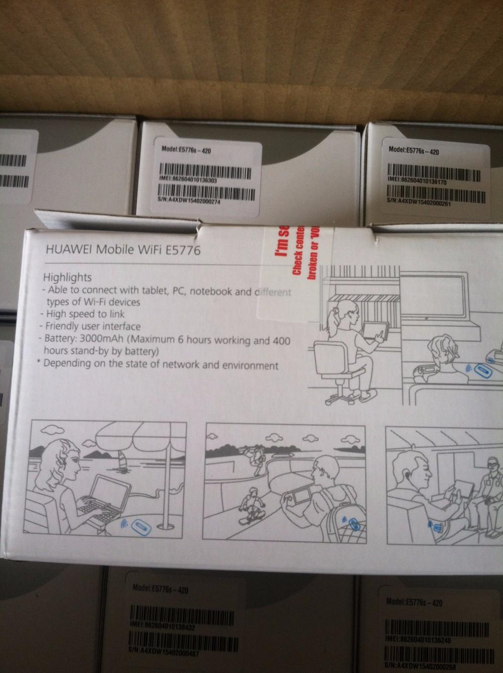Huawei E5776s-420 FDD B3/B7 1800/2600Mhz TDD B42/43 3500Mhz/3700Mhz