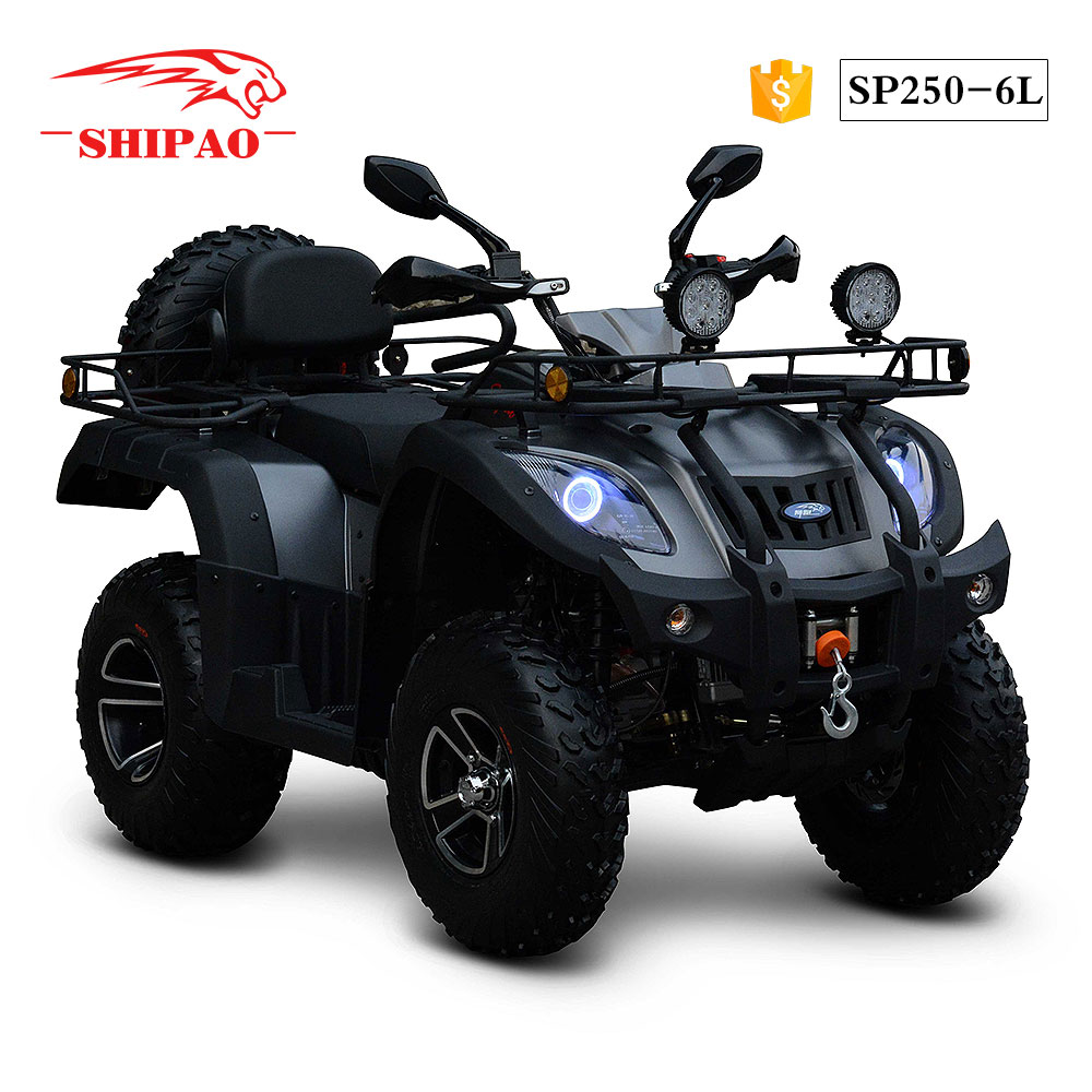 SP250-6L Shipao double arm shock 300cc automatic atv