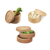 Palm chinese restaurant cookware inch tier bamboo food steamer