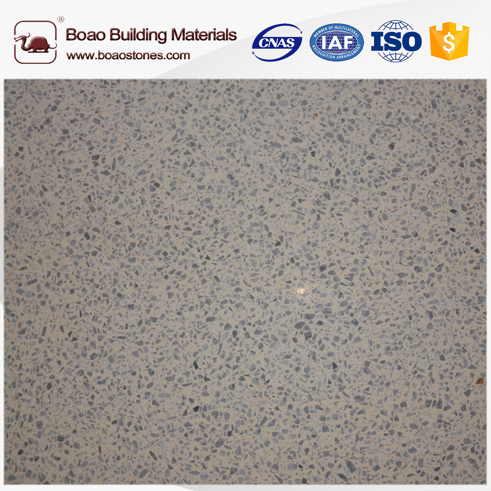 Artificial stone slab with natural granite stone for floor and wall