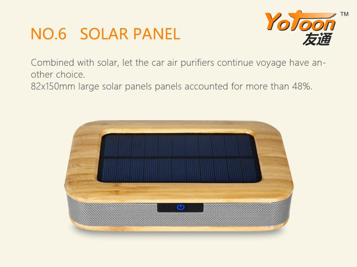 In-Car Solar Air Purifier