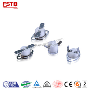 "FSTB Wholesale 1/2"" Snap Action Bimetal Disc Thermostat High Quality KSD 301 Thermal Switch Electrical Circuit Breakers TUV"