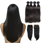best cheap aliexpress straight long deals cheap brazilian black hair bundles