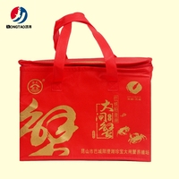 Factory sale custom design customed color cooler bag for frozen food