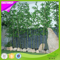 Wholesale price 6m artificial bamboo plants tree for outdoor indoor wall