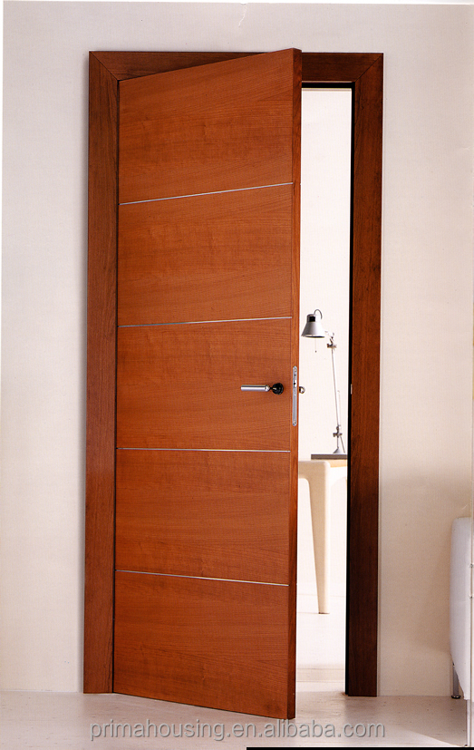 Solid teak wood door price main door designs cheap for Office main door design