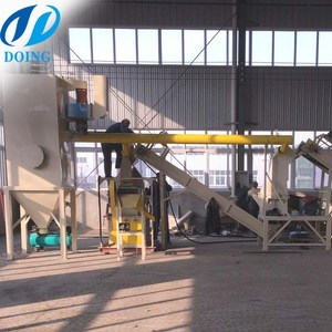 waste car copper aluminum radiator copper recycling machine