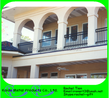 Awesome Iron Security Home Balcony Grill Railings Design
