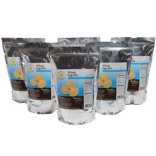 Legacy Essentials Long Term Powdered Whole Eggs - 15 Year Shelf Life Egg Powder for Emergency Food Storage Supply (Quantity 6)