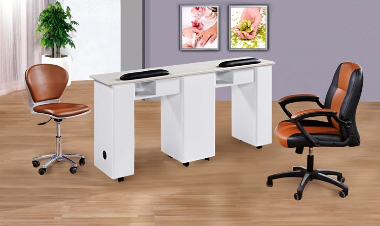 new style nail table/ high quality salon manicure nail table/ salon equipment nail tables for sale N031-2