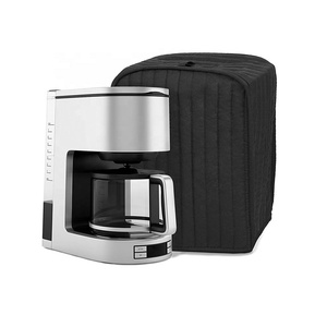 Dust Proof Cover with Soft Velvet Lining COFFEE maker Appliance cover machine Fingerprint Protection