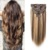 100% silky remy straight balayage clip in human hair extensions