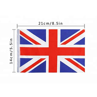 Promotional cheap British string flags