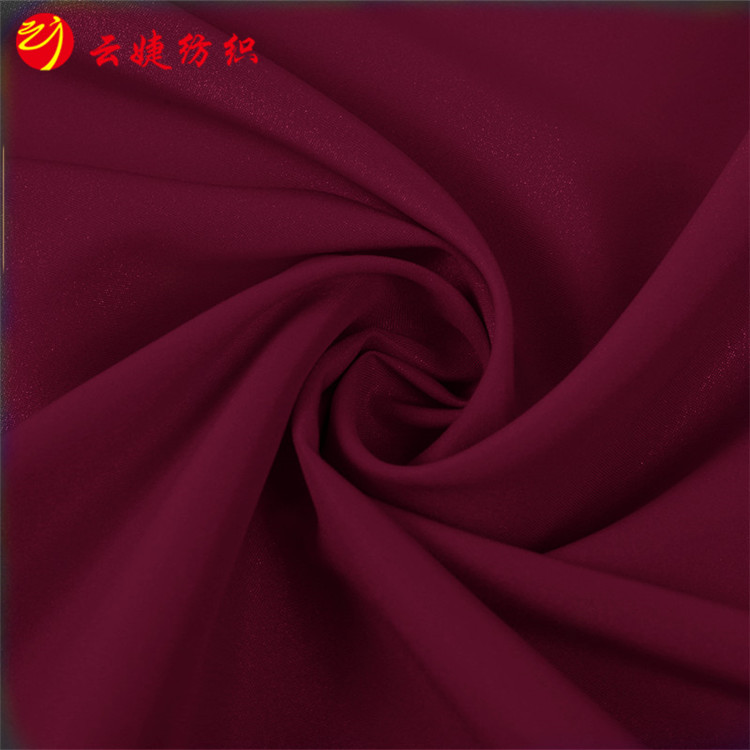 98% cotton 2%Spandex satin fabric with plain Dyed peach