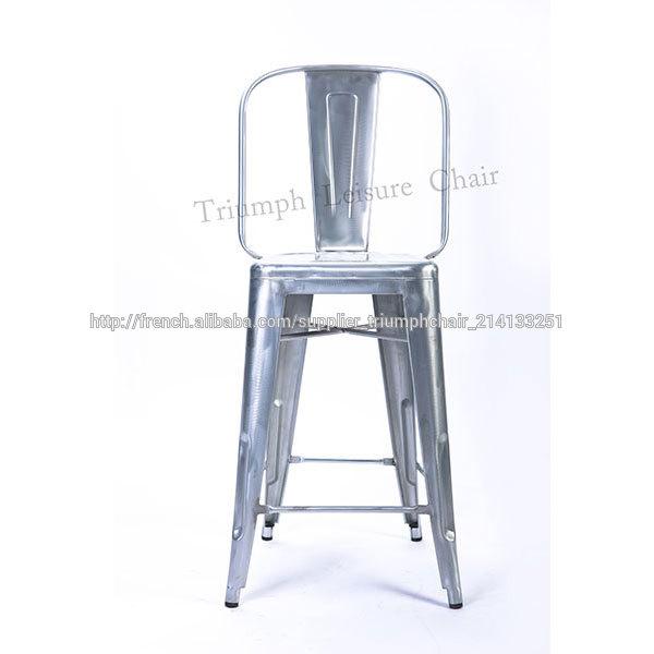Triumph Metal Tabouret De Bar Chaise Vintage Haute