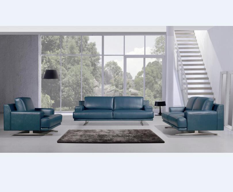Enjoyable Italian Style Furniture Full Top Leather Blue Leather Sofa Set View Blue Leather Sofa Neveitalia Product Details From Evergo Furniture Co Ltd On Beutiful Home Inspiration Truamahrainfo