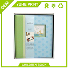 Recycled exquisite hardcover year baby memory book manufacture in China