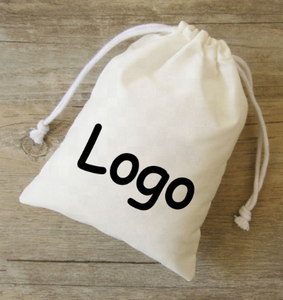 Custom Cotton canvas or jute or satin fabric drawstring bag pouch manufacturer for wholesaler jewelry gift bags