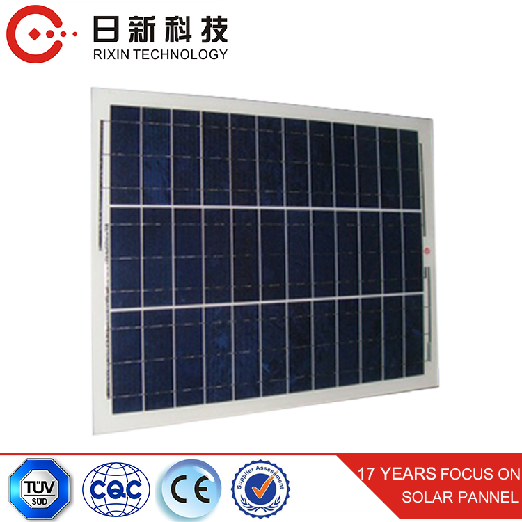 100W 12V Green Energy Solar Cells / Solar Panel For Motorhome