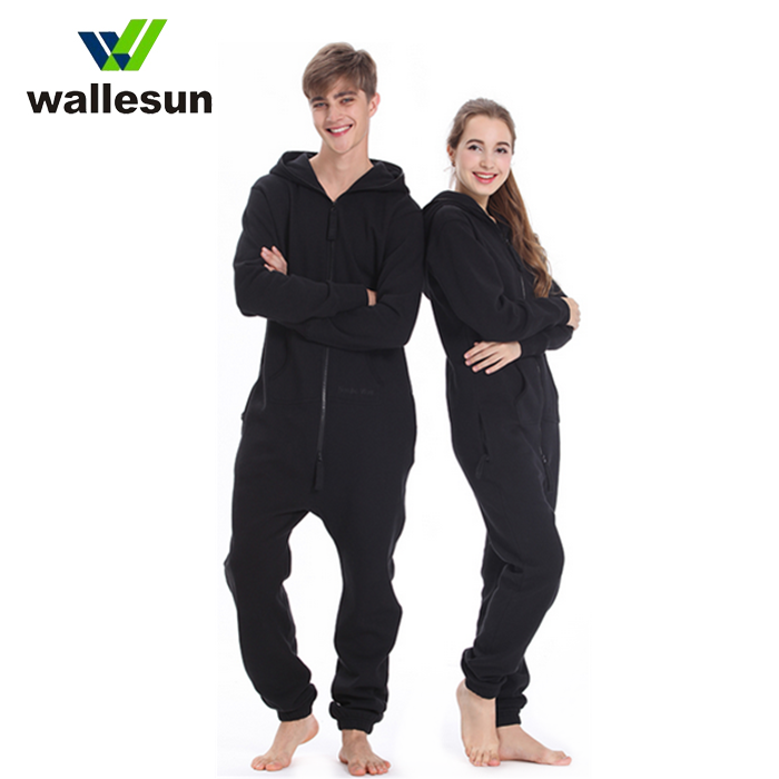 Christmas pajama sets custom heated onesie unisex OEM adult onesie