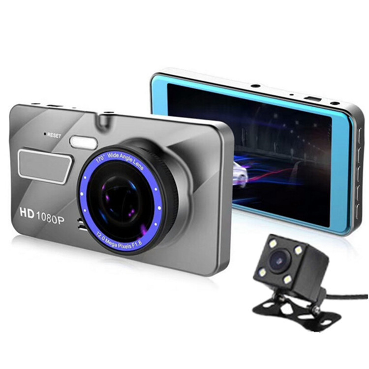 High quality A10 Dual Lens Car Camera FHD 1080 Dashcam Front Back DVR Dash Cam Video Recorder dash cam