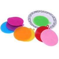 Multi-functional Silicone Dish Sponge Washing Brush Scrubber 8 Pack Household Cleaning Sponges For Kitchen Wash Pot Pan Dish Bow