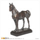 Resin Art Red Horse Statue for Home decoration