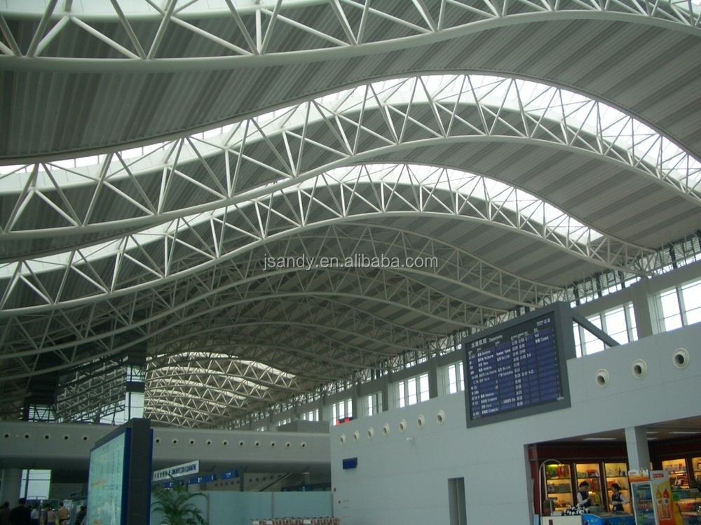 Railway Station Galvanized Space Roof Truss Buy