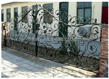 beautiful wrought iron house gate design buy  design