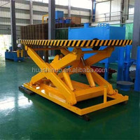 Stationary lift up table mechanism