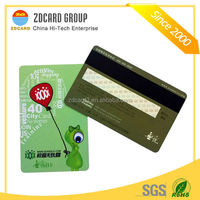 Top quality ic card calling card prepaid with thermal printer