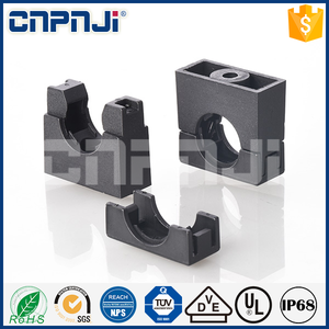 PA nylon plastic flexible corrugated conduit pipe clamp bracket