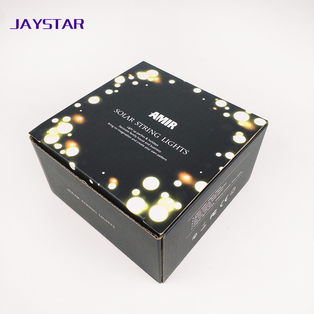 Cheap custom matt black paper packaging corrugated box