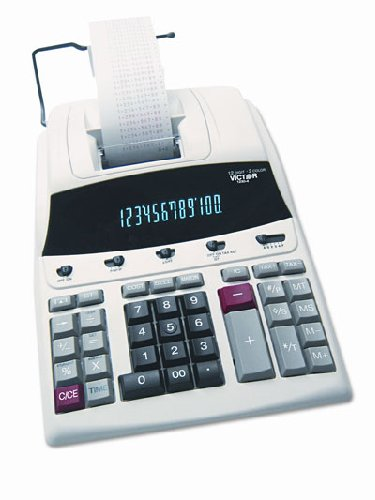 "12-Digit Calculator,2-Color Printing,8-1/2""x12""x2-1/5"",WE/BE, Sold as 1 each"