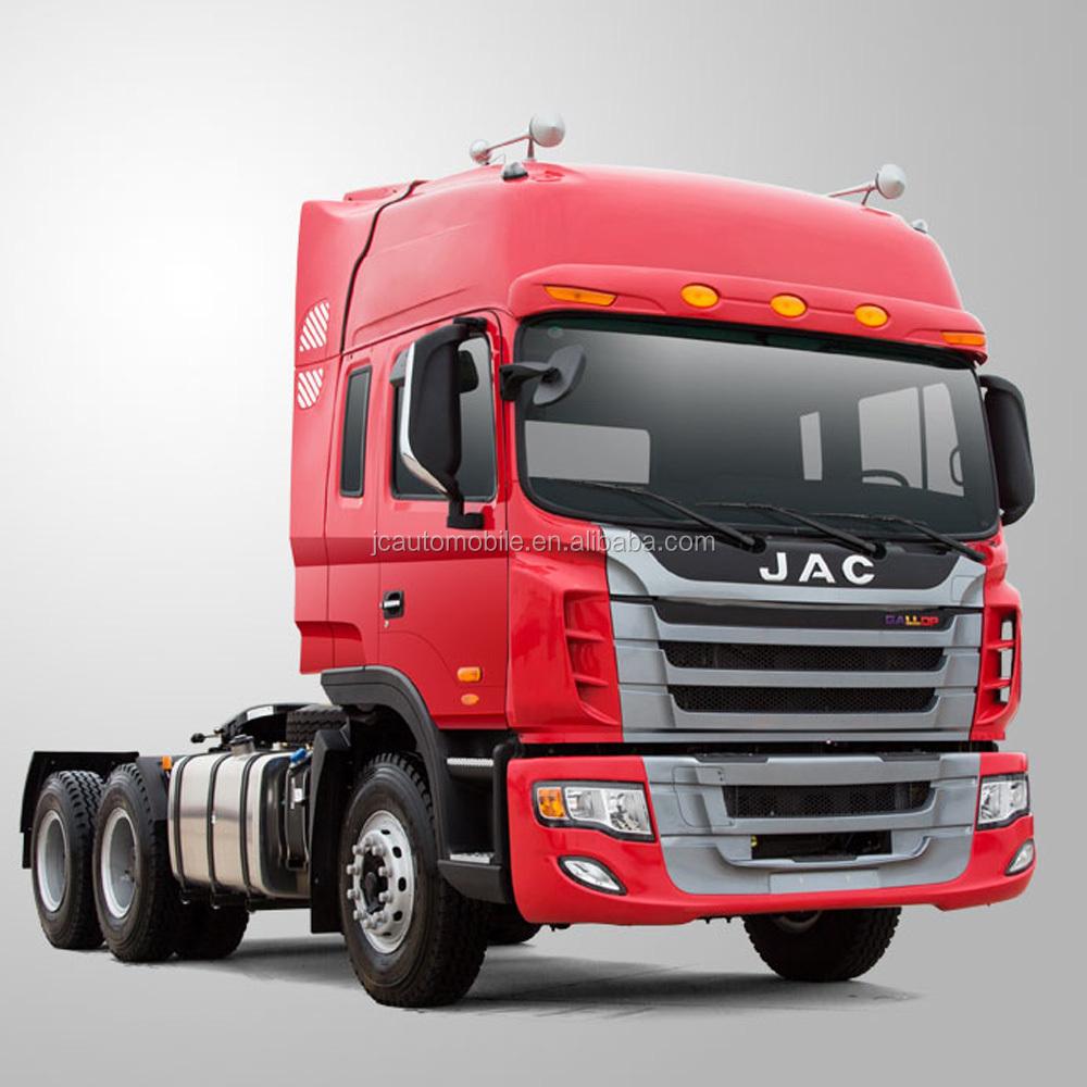 Tractor Trailer Head On : Hot sale tons jac heavy truck head trailer