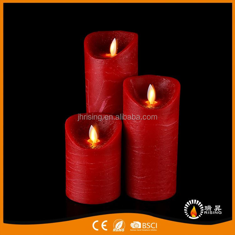 China Manufacturer OEM design wax vogue flameless led candle with good offer