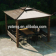 Wholesale furniture china cheap outdoor poly rattan gazebos for sale