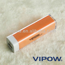 New Model power bank with 1 year warranty 2600mah Cargador Portatil