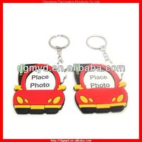 London Bus 3D soft PVC photo frame with key chain (MYD-PF2234)