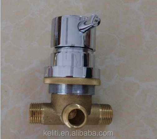 Spa Faucet Pedicure Spa Mixing Valve Bathtub Faucet Mixer: Mixer Single Water Control Lever,Pedicure Spa Chair Brass