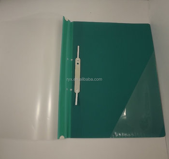 wholesale pp plastic clip file folder a4 size office report cover