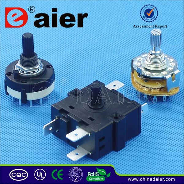 DAIER 7 position rotary switch