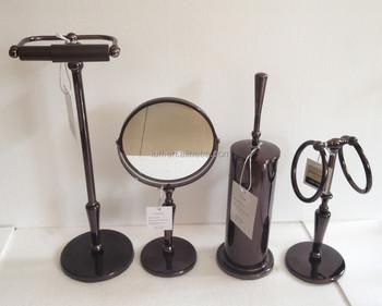 Badkamer Accessoires Goud : Ontwerp virgo rose goud badkamer accessoires set stks wc