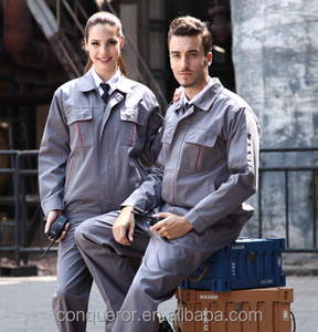 new fashion working uniform bespoke uniform for worker made in China KR05