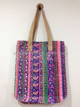 002688efa Best Selling Print Neon Canvas Tote Bags New Pattern - Buy Cotton ...