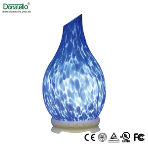 Christmas decoration clear acrylic light diffuser electronic dry herb vaporizer